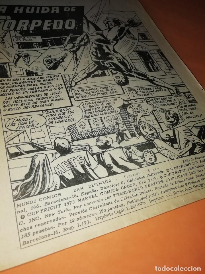 Cómics: DAN DEFENSOR. LA HUIDA DE TORPEDO. EDICION ESPECIAL 1977. VERTICE. - Foto 4 - 210594176