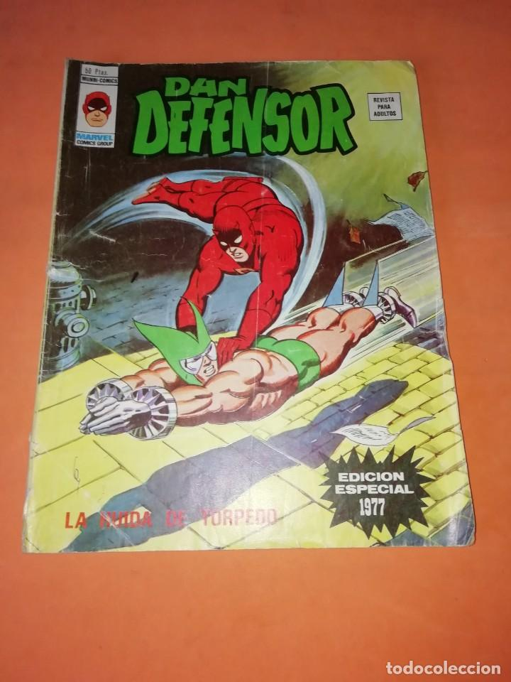 DAN DEFENSOR. LA HUIDA DE TORPEDO. EDICION ESPECIAL 1977. VERTICE. (Tebeos y Comics - Vértice - Dan Defensor)