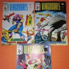 Cómics: LOS VENGADORES. V.2 NUMEROS 43, 44 Y 45. VERTICE GRAPA.. Lote 210596330