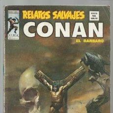 Cómics: RELATOS SALVAJES 14: CONAN, 1975, VERTICE, USADO. COLECCIÓN A.T.. Lote 210636064