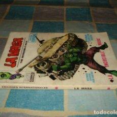 Cómics: LA MASA 1, 1970, VERTICE, USADO. COLECCIÓN A.T.. Lote 210641015