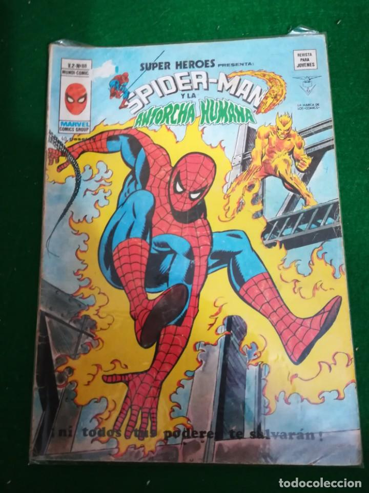 EDICIONES VÉRTICE MUNDICOMICS , SUPER HEROES , V2 Nº88 SPIDERMAN Y LA ANTORCHA HUMANA (Tebeos y Comics - Vértice - Super Héroes)