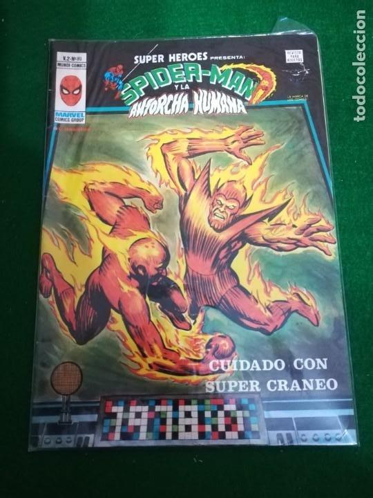 EDICIONES VÉRTICE MUNDICOMICS , SUPER HEROES V2- Nº89 SPIDERMAN Y LA ANTORCHA HUMANA (Tebeos y Comics - Vértice - Super Héroes)