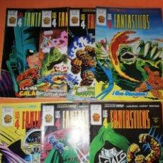 Cómics: LOS 4 FANTASTICOS, VOLUMEN 3. NUMEROS 27,28,29,30,31,32 Y 33. VERTICE GRAPA. BUEN ESTADO.. Lote 210680682