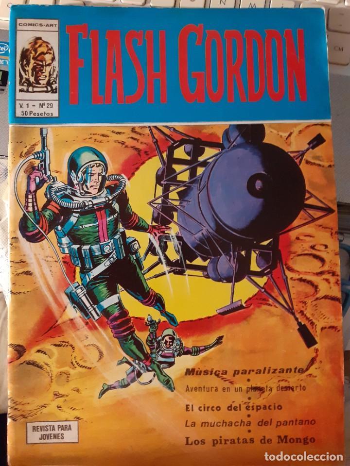 Cómics: FLASH GORDON- V-1-VÉRTICE- Nº 29 - MAGISTRAL DAN BARRY-1977-BUENO-ÚNICO EN TODOCOLECCIÓN-LEAN- 3807 - Foto 2 - 210684356