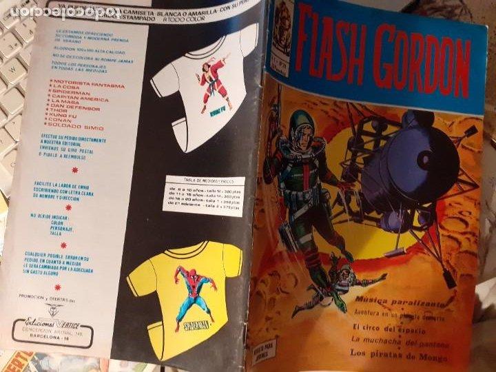 Cómics: FLASH GORDON- V-1-VÉRTICE- Nº 29 - MAGISTRAL DAN BARRY-1977-BUENO-ÚNICO EN TODOCOLECCIÓN-LEAN- 3807 - Foto 3 - 210684356