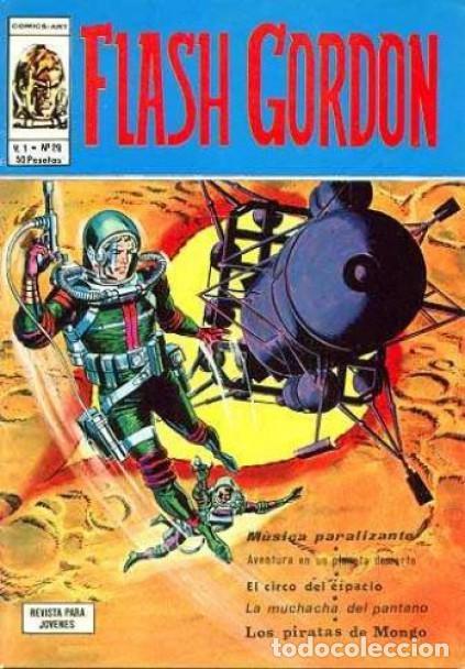 FLASH GORDON- V-1-VÉRTICE- Nº 29 - MAGISTRAL DAN BARRY-1977-BUENO-ÚNICO EN TODOCOLECCIÓN-LEAN- 3807 (Tebeos y Comics - Vértice - Flash Gordon)