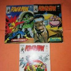 Cómics: POWER-MAN. VOLUMEN 1 NUMEROS 20, 23 Y 25. VERTICE GRAPA. Lote 210766587