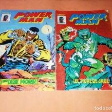 Cómics: POWER-MAN. MUNDI-COMICS . VERTICE COLOR. NUMEROS 1 Y 3.. Lote 210768786