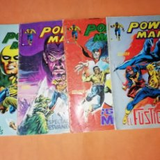 Cómics: POWER-MAN. LINEA SURCO. COLOR. NUMEROS 1,5 ,6 Y 7.. Lote 210769919