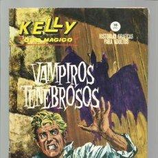 Cómics: KELLY OJO MÁGICO 6, 1965, VERTICE, BUEN ESTADO. COLECCIÓN A.T.. Lote 210786040