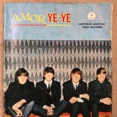 Cómics: AMOR YE-YE N° 1 (EDICIONES VÉRTICE 1965). ¿COMO FILMARON LOS BEATLES?. THE BEATLES COMIC.. Lote 210798847
