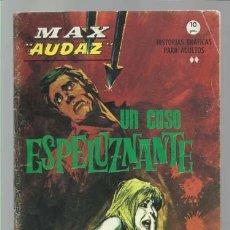 Cómics: MAX AUDAZ 17, 1965, VERTICE, BUEN ESTADO. COLECCIÓN A.T.. Lote 210805230