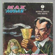 Cómics: MAX AUDAZ 16, 1965, VERTICE, BUEN ESTADO. COLECCIÓN A.T.. Lote 210805269
