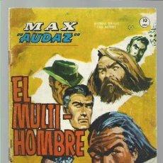 Cómics: MAX AUDAZ 15, 1965, VERTICE, BUEN ESTADO. COLECCIÓN A.T.. Lote 210805289