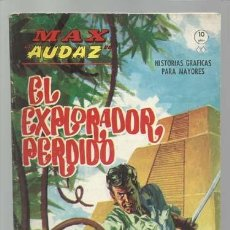 Cómics: MAX AUDAZ 14, 1965, VERTICE, BUEN ESTADO. COLECCIÓN A.T.. Lote 210805330