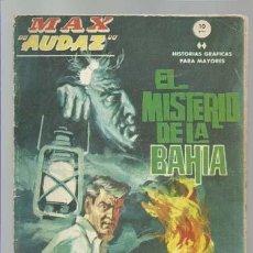 Cómics: MAX AUDAZ 13, 1965, VERTICE, BUEN ESTADO. COLECCIÓN A.T.. Lote 210806865