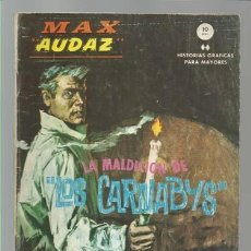 Cómics: MAX AUDAZ 12, 1965, VERTICE, BUEN ESTADO. COLECCIÓN A.T.. Lote 210806910