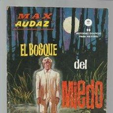 Cómics: MAX AUDAZ 10, 1965, VERTICE, BUEN ESTADO. COLECCIÓN A.T.. Lote 210806985