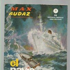 Cómics: MAX AUDAZ 9, 1965, VERTICE, MUY BUEN ESTADO. COLECCIÓN A.T.. Lote 210807012