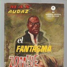 Cómics: MAX AUDAZ 8, 1965, VERTICE, MUY BUEN ESTADO. COLECCIÓN A.T.. Lote 210807034