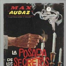 Cómics: MAX AUDAZ 6, 1965, VERTICE, BUEN ESTADO. COLECCIÓN A.T.. Lote 210807095