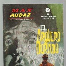 Cómics: MAX AUDAZ 5, 1965, VERTICE, MUY BUEN ESTADO. COLECCIÓN A.T.. Lote 210807160