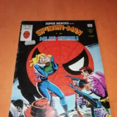 Cómics: SPIDERMAN Y LA MUJER INVISIBLE. SUPER HEROES PRESENTA VOL 2 Nº 124. VERTICE GRAPA. Lote 211266735