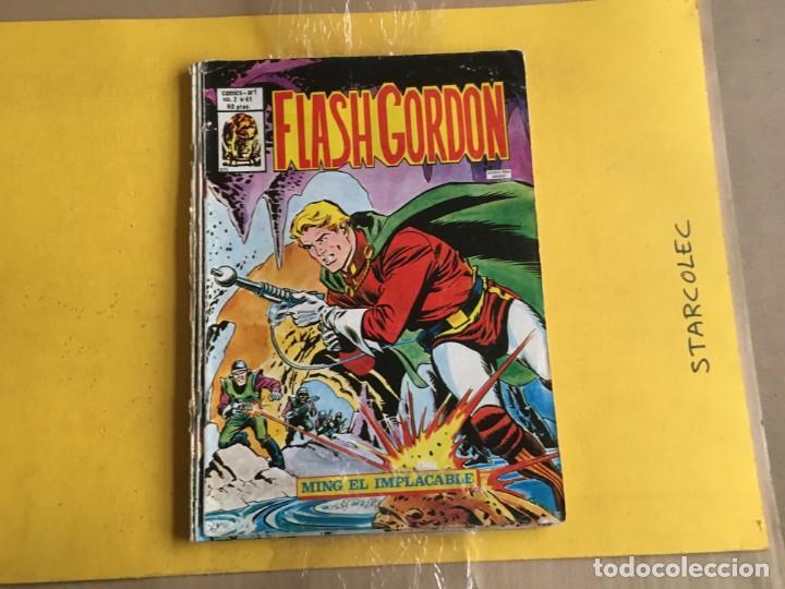 Cómics: VERTICE, FLASH GORDON V.2. LOTE DE 4 NUMEROS (VER DESCRIPCION) EDITORIAL VERTICE - Foto 3 - 211270186