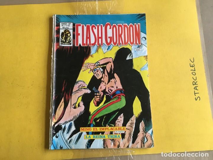 Cómics: VERTICE, FLASH GORDON V.2. LOTE DE 4 NUMEROS (VER DESCRIPCION) EDITORIAL VERTICE - Foto 4 - 211270186