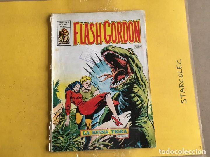 Cómics: VERTICE, FLASH GORDON V.2. LOTE DE 2 NUMEROS (VER DESCRIPCION) EDITORIAL VERTICE - Foto 3 - 211270364