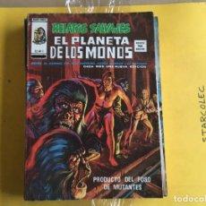 Cómics: VERTICE, EL PLANETA DE LOS MONOS V.2. LOTE DE 9 NUMEROS (VER DESCRIPCION) EDITORIAL VERTICE. Lote 211392525
