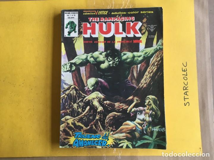 Cómics: VERTICE, HULK V.1 COLOR. LOTE DE 4 NUMEROS (VER DESCRIPCION) EDITORIAL VERTICE - Foto 2 - 211408516