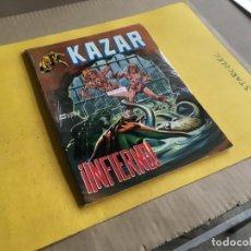 Cómics: VERTICE, KAZAR LINEA SURCO COLOR. LOTE DE 2 NUMEROS (VER DESCRIPCION) EDITORIAL VERTICE. Lote 211409254