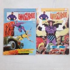 Cómics: EL HOMBRE ENMASCARADO. VOL 2, N° 21 Y 23. EDICIONES VÉRTICE 1980. N° 21 DIBUJADO POR WILSON MCCOY.. Lote 211409407