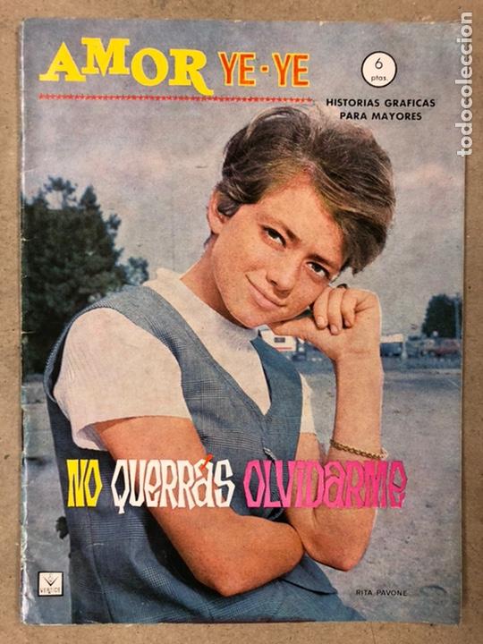 Cómics: AMOR YE-YE Nº 9 y N° 24 (EDICIONES VÉRTICE 1965). RITA PAVONE Y RICHARD CHAMBERLEIN. - Foto 2 - 211512365