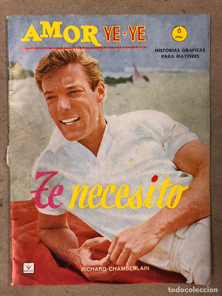 Cómics: AMOR YE-YE Nº 9 y N° 24 (EDICIONES VÉRTICE 1965). RITA PAVONE Y RICHARD CHAMBERLEIN. - Foto 10 - 211512365