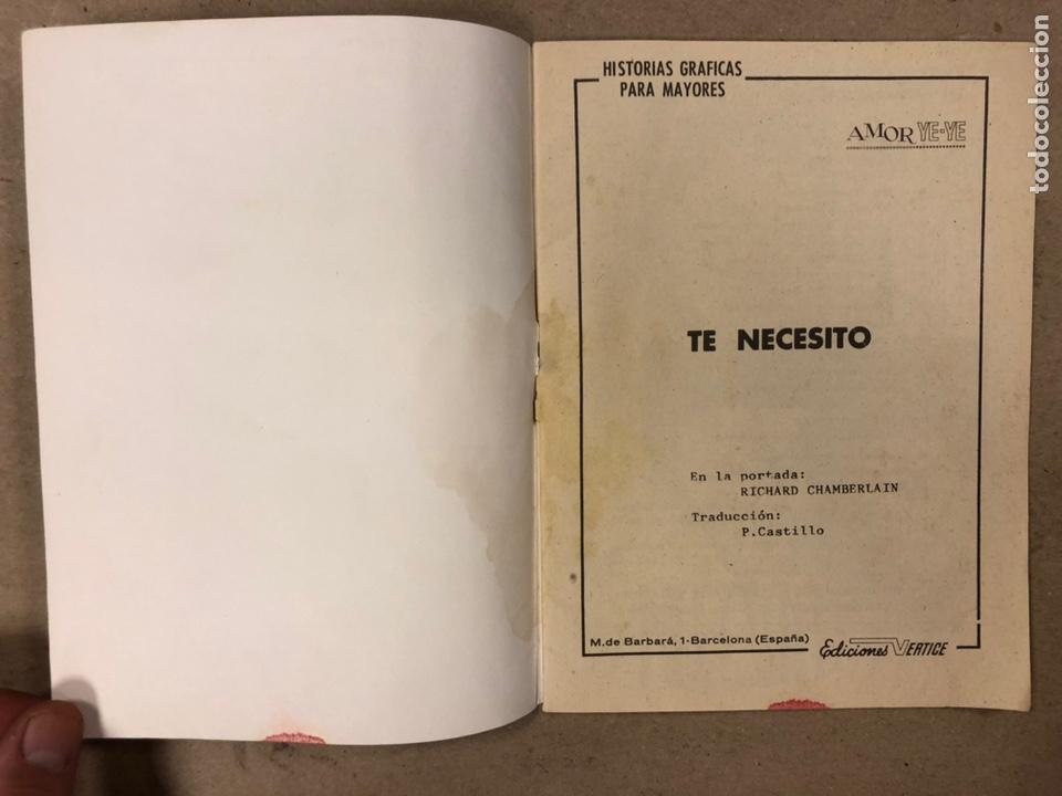 Cómics: AMOR YE-YE Nº 9 y N° 24 (EDICIONES VÉRTICE 1965). RITA PAVONE Y RICHARD CHAMBERLEIN. - Foto 11 - 211512365