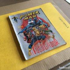 Cómics: VERTICE, POWER MAN LINEA SURCO COLOR. LOTE DE 2 NUMEROS (VER DESCRIPCION) EDITORIAL VERTICE. Lote 211605955