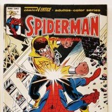 Cómics: SPIDERMAN Nº 61 - VERTICE COMICS - VOLUMEN 3 - 1979. Lote 211674523