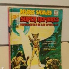Cómics: RELATOS SALVAJES SUPER HOMBRES PROCEDENTES DE LAS ESTRELLAS VOL. 1 Nº 7 - MUNDI-COMICS VERTICE. Lote 211695680