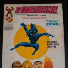 Fumetti: 4 FANTASTICOS, LOS (1969, VERTICE) -V.1- 25 · 1971 · APARECE LA PANTERA NEGRA. Lote 211844096
