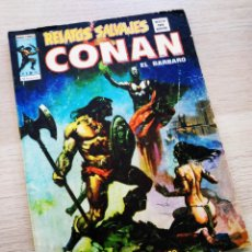 Cómics: RELATOS SALVAJES 30 CONAN VÉRTICE NORMAL ESTADO. Lote 211882392