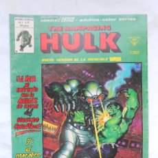 Cómics: THE RAMPAGING HULK. VOL 1. Nº 12 VÉRTICE. Lote 212278613