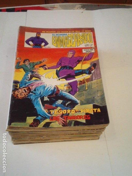 EL HOMBRE ENMASCARADO - VERTICE - VOLUMEN 2 - COMPLETA - 43 NUMEROS - BUEN ESTADO - GORBAUD (Tebeos y Comics - Vértice - Hombre Enmascarado)