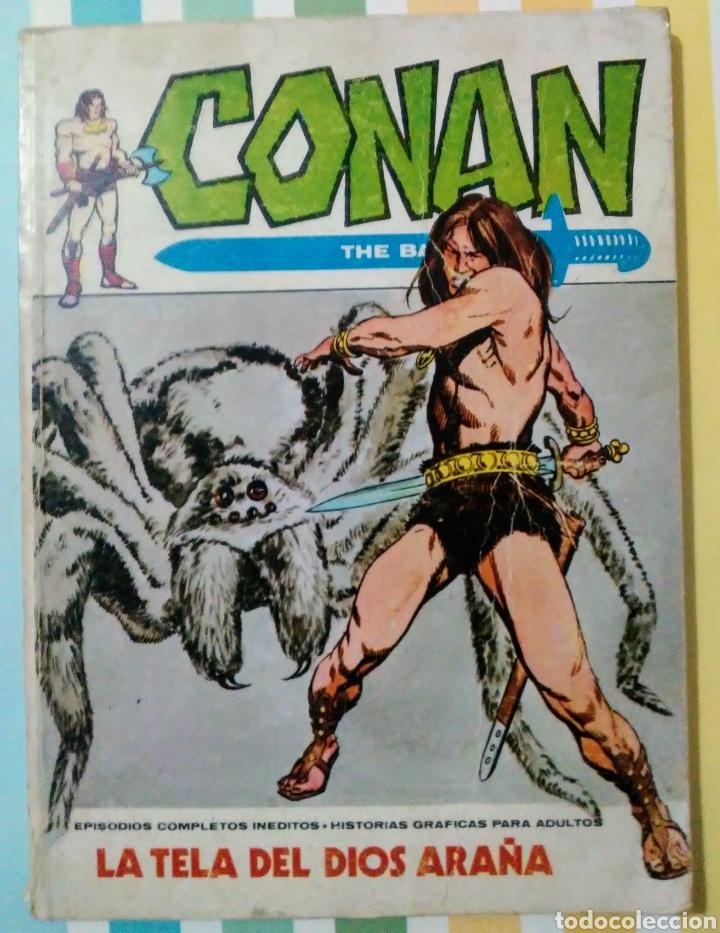 Cómics: lote Conan the barbarian nº 5, 7, 8, 9, 10, 12, 13, 14, 15 y 16 ed, internacionales vertice v.1 - Foto 3 - 212362252