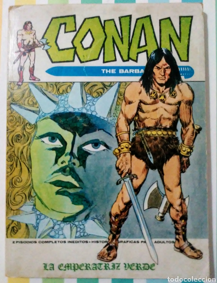 Cómics: lote Conan the barbarian nº 5, 7, 8, 9, 10, 12, 13, 14, 15 y 16 ed, internacionales vertice v.1 - Foto 5 - 212362252