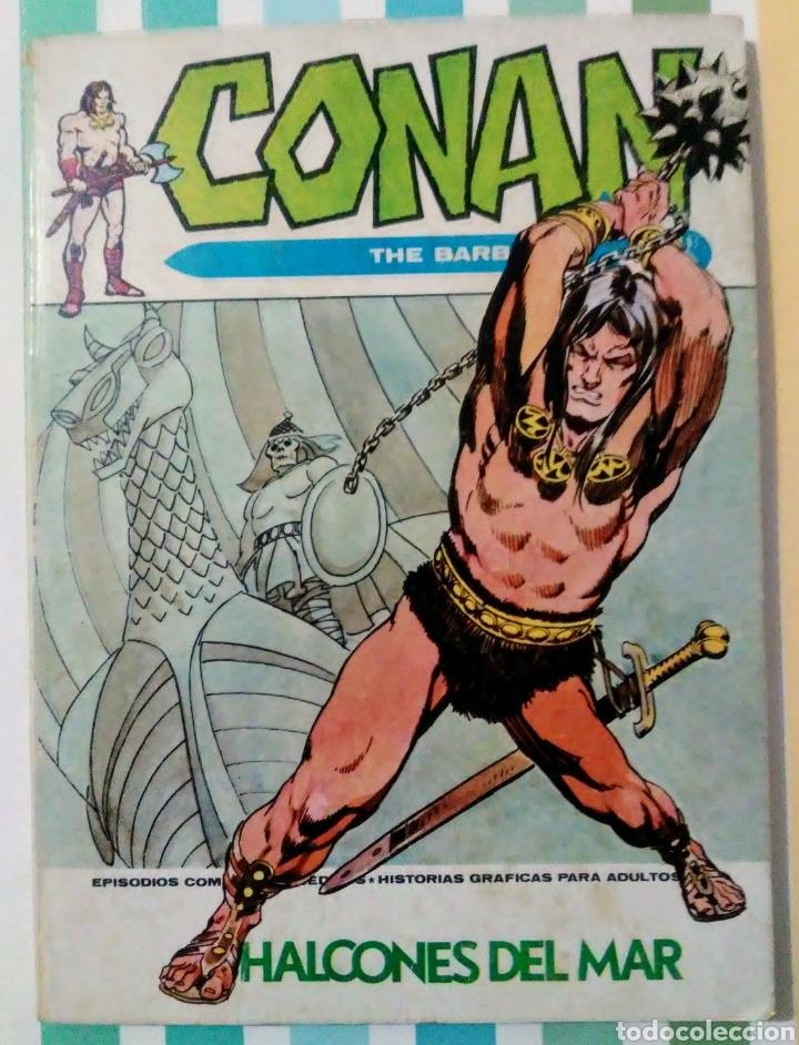 Cómics: lote Conan the barbarian nº 5, 7, 8, 9, 10, 12, 13, 14, 15 y 16 ed, internacionales vertice v.1 - Foto 7 - 212362252