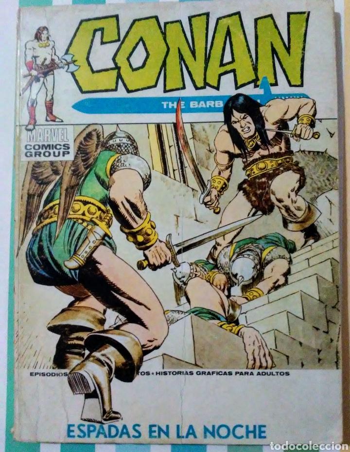 Cómics: lote Conan the barbarian nº 5, 7, 8, 9, 10, 12, 13, 14, 15 y 16 ed, internacionales vertice v.1 - Foto 8 - 212362252