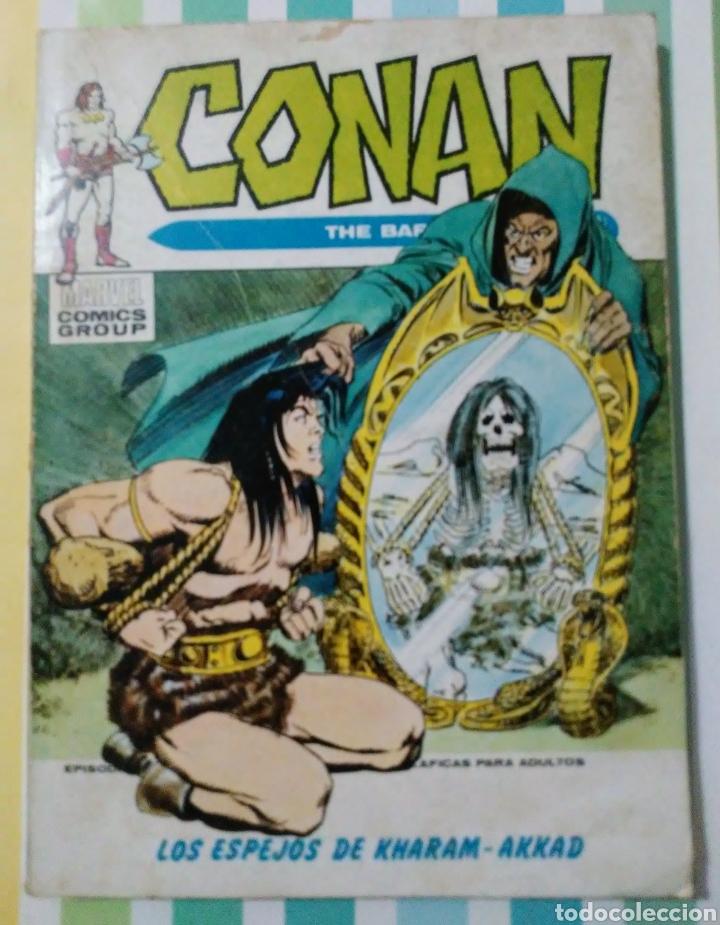 Cómics: lote Conan the barbarian nº 5, 7, 8, 9, 10, 12, 13, 14, 15 y 16 ed, internacionales vertice v.1 - Foto 11 - 212362252